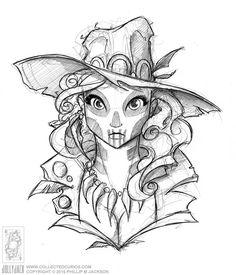 Voodoo Lady by jollyjack.deviantart.com on @DeviantArt