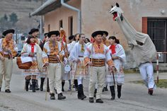 Village of Čičmany and traditional Slovak folklore Folk Costume, Costumes, Hipster, Traditional, Clothes, Women, Europe, Culture, Google Search