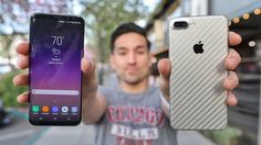 Samsung Galaxy S8 Plus vs Apple iPhone 7 Plus!