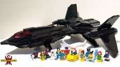 Uncanny X-Men and the Blackbird: A LEGO® creation by Justin Saber-Scorpion Stebbins : MOCpages.com