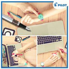 Máte volnou chvilku? Mrkněte na nový design našeho Instagramu! :) Chystáme plno soutěží! Najdete nás jako @pilotpencz <3 #happywriting