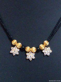 Gold Mangalsutra Designs, Gold Earrings Designs, Gold Jewellery Design, Bead Jewellery, Beaded Jewelry, Beaded Necklace, Gold Necklace, Jewelry Patterns, Diamond