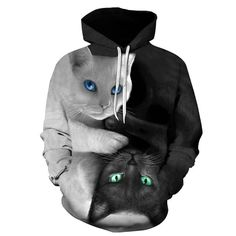It's like having your cats with you, only better! Stay mobile with this wonderful Hoodie! Unisex Polyester Secure checkout Material: Polyester Fabric Type: Broadcloth Style: Casual Size guide  S M L XL 2XL 3XL Length (inches) 28 29 ¼ 30 ¼ 31 ¼ 32 ½ 33 ½ Width (inches) 18 20 22 24 26 28  S M L XL 2XL 3XL Length (cm) 7