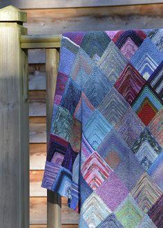Mitred Squares Blanket Pt3 6