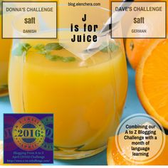 A to Z Blogging Challenge: J is for Juice #atozchallenge