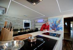 Die modern eingerichtete Kochschule von Otto Koch ist technisch auf dem neuesten Stand.  Foto © Matthias Hangst für Mein Buffet