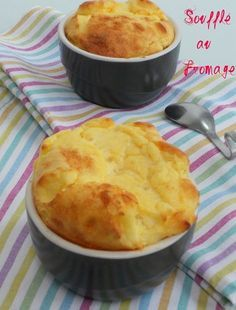 soufflé au fromage inratable