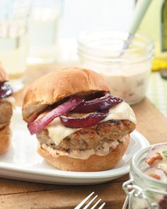 Chicken Burgers | Cuisine at home eRecipes