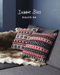 Scandinavian Cushions in Debbie Bliss Rialto DK - Discover more Patterns by Debbie Bliss at LoveCrafts. From knitting & crochet yarn and patterns to embroidery & cross stitch supplies! Loom Knitting, Knitting Patterns, Crochet Patterns, Free Knitting, Stitch Patterns, Knitting Projects, Sewing Projects, Knitting Supplies, Knitting Tutorials