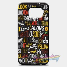 Coldplay Yellow Samsung Galaxy S8 Case
