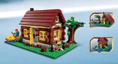 My dream Log Cabin in Lego!  My son bought it for me for Christmas, he loves me!