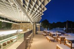 Finish your evening with a glass of the best champagne or cognac @ Mulini Beach Bar, Rovinj, Croatia
