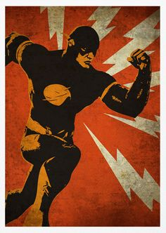 Super Heros: Posters Vintage Batman, Spider-Man, Iron Man, Superman