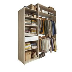 1000 images about projet dressing on pinterest dressing - Castorama amenagement placard ...