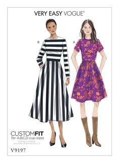 V9197 | Vogue Patterns | Sewing Patterns