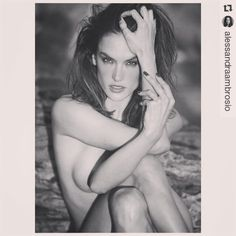 Alessandra Ambrosio #Repost @alessandraambrosio with @repostapp ・・・ Ended   #teamBellemere @davidbellemere #davidbellemere