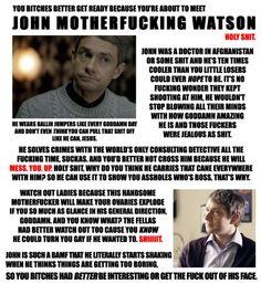 John Watson everyone!  #Sherlock #Martin #Freeman