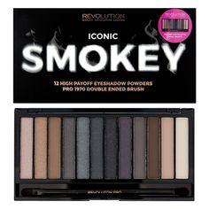 Makeup Revolution Iconic Smokey Palette   - Cliquez pour agrandir l'image