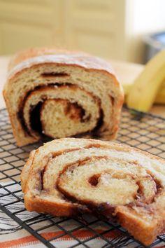 Banana Yeast Bread | Bluebonnet Baker