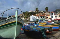 Fishing Boats at Dry Docks in Camara de Lobos Madeira #portugal #madeira #island #madeiratrip #camaradelobos #fishing #boats #dock #atlantic #ocean #nikon #nikon7000 #nikonphotography