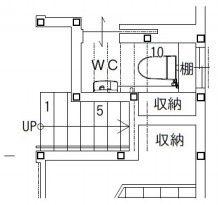 「階段下トイレ」で圧迫感なく使える高さを知りたい!|失敗しない間取り相談 新築|リフォーム 間取りアドバイザー 坂口亜希子