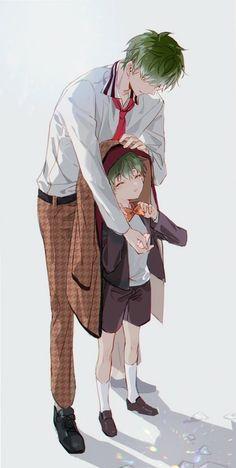 Anime Boys, Anime Siblings, Manga Anime, Anime Art, Character Concept, Character Design, Tragic Comedy, Anime Boy Zeichnung, Handsome Anime Guys