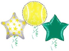 Tennis Balloons! These are cute!