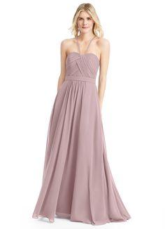 875c9b59e02 Felicity is a chiffon floor-length dress in an A-line cut.