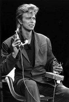 1987 - David Bowie 80s.