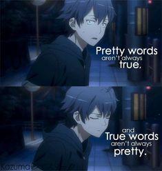 Oregairu. #anime #animequotes #quotes
