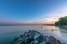 #hungary#travel #summer #ikozosseg #mik #instadaily #photooftheday #clouds #rural #nature #balaton #lake #sunset #shore #turista #magyarorszag #balatonakali