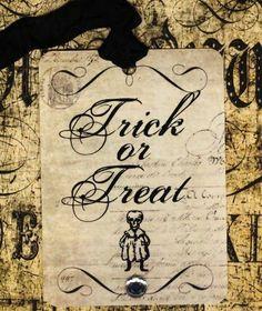 Vintage Halloween Decorations | ... has some amazing Halloween decorations on her site or her Etsy page