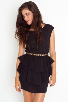 Peplum....even though it would prob make my hips and rump look even bigger! Wah.