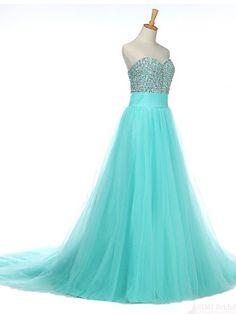 sweep train long prom dress, evening dress #promdresses #SIMIBridal