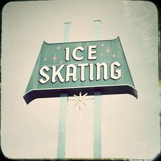 This is the sign outside the Culver City ice rink where I have trained since I was a kid.