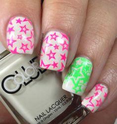 Colores de Carol: Neon Stars