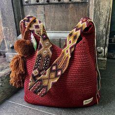 Mayan Morral Bag tassel by Otomiartesanal. & Etsy Mayan Morral Bag tassel by Otomiartesanal. & Etsy The post Mayan Morral Bag tassel by Otomiartesanal. Crochet Handbags, Crochet Purses, Crochet Bags, Knit Crochet, Purse Handles, Tapestry Crochet, Knitted Bags, Purses And Handbags, Hand Knitting