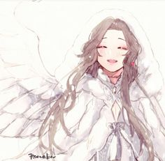 Anime Angel, Anime Kunst, Anime Art, Real Angels, Beautiful Anime Girl, Girl Inspiration, Kawaii Anime Girl, Character Costumes, Drawing Techniques