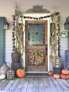 Sharing our autumn front porch inspiration and ideas .... such an important place to ready for guests and family...the first area of your home that is seen!