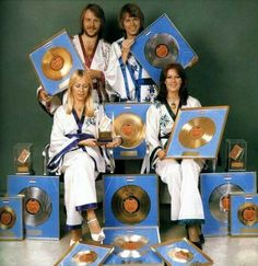 ABBA in Gold or Platin