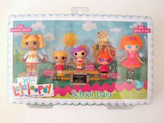 School Days Mini Lalaloopsy 5 Doll Spot Splatter Splash Bea Spells a Lot MGA Toy #Dolls