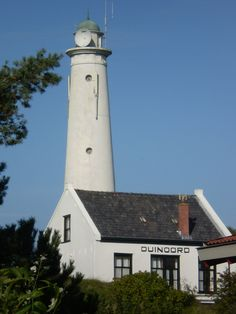 Lighthouse.  Schiermonnikoog, the Netherlands.