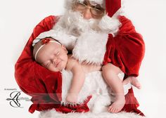 Christmas baby pose- that may be the sweetest yet!