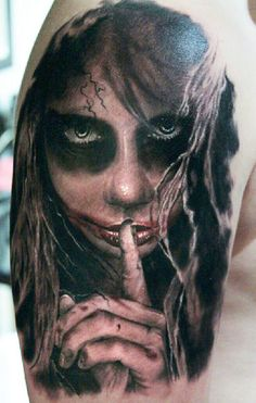 Tattoo Artist - Pavol Krim Tattoo - horror tattoo