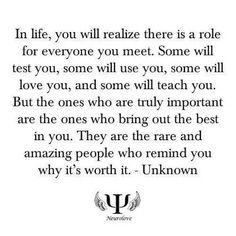 Omdat je het waard bent.