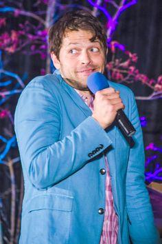 Misha Collins - SeaCon 2015 photo http://fluffycastiel.tumblr.com