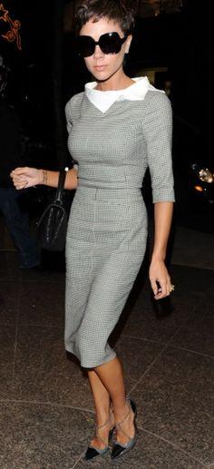 Victoria Beckham Style Dress