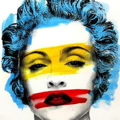 Mr Brainwash ( Thierry Guetta ). #mrbrainwash http://www.widewalls.ch/artist/mr-brainwash/