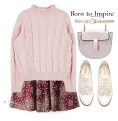 """""""Inspiration"""" by amilla-top ❤ liked on Polyvore featuring H&M, women's clothing, women, female, woman, misses and juniors"""