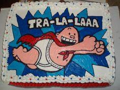 Captain Underpants Birthday Cake
